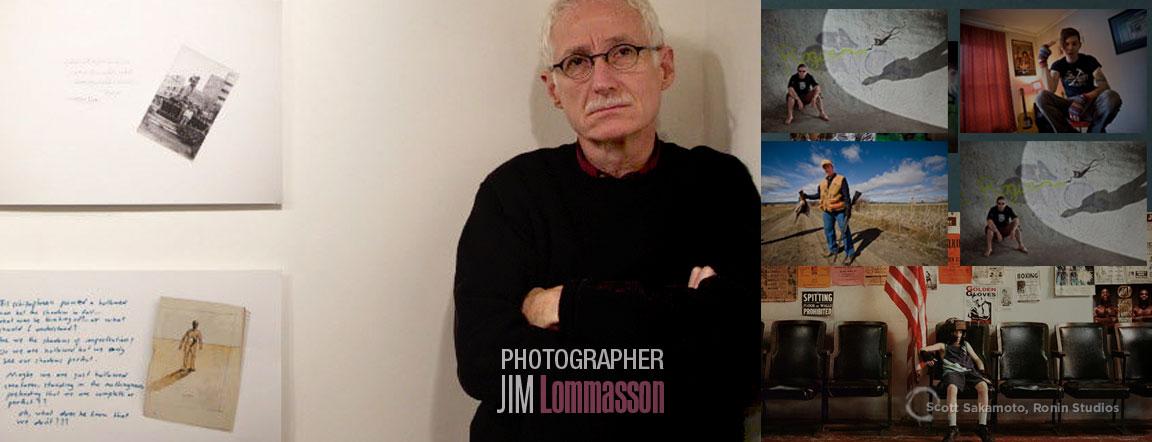 Photographer, Jim Lommasson, Portland, Oregon